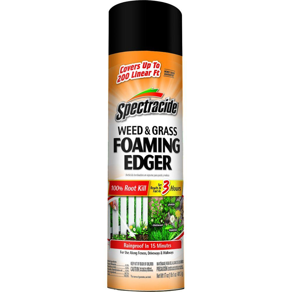 Spectracide 17 oz. Weed and Grass Foaming Edger