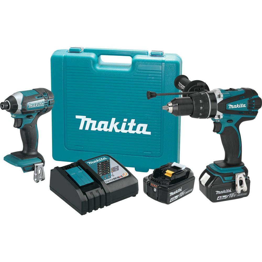 Makita 18 Volt Lxt Lithium Ion Cordless Combo Kit 2 Piece