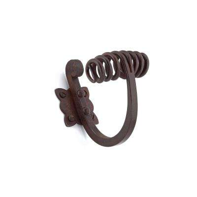 4-1/8 in. (105 mm) Rust Decorative Hook