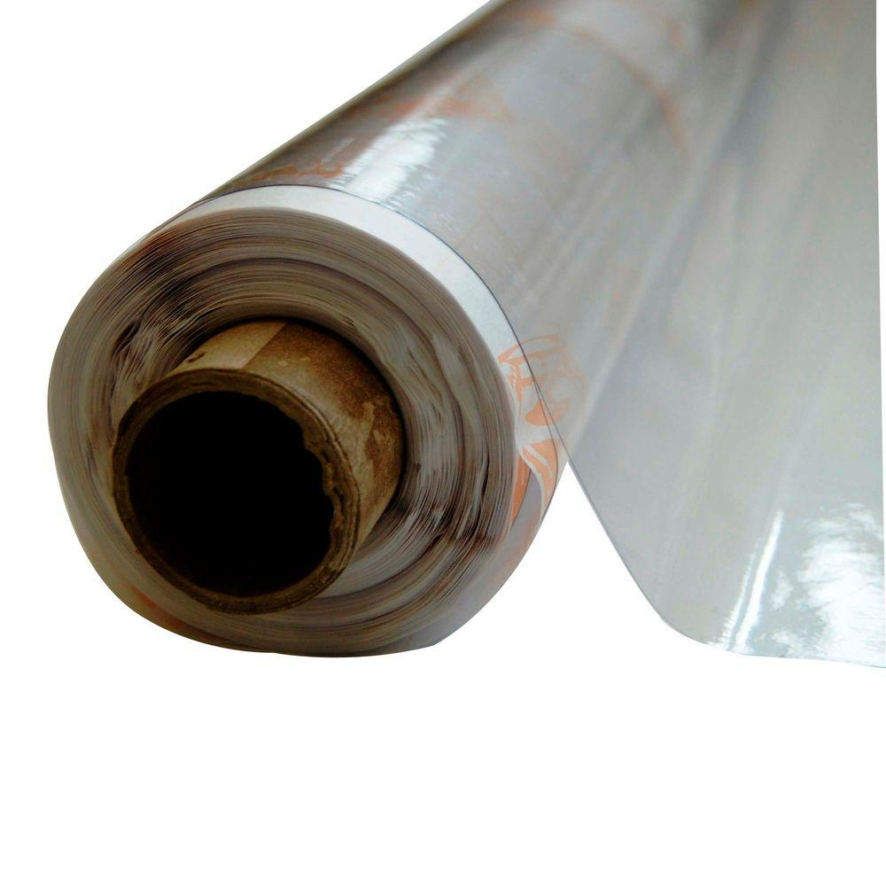 Vinyl It 4 1 2 Ft X 75 Ft Clear 8 Mil Plastic Sheeting 10008 The Home Depot