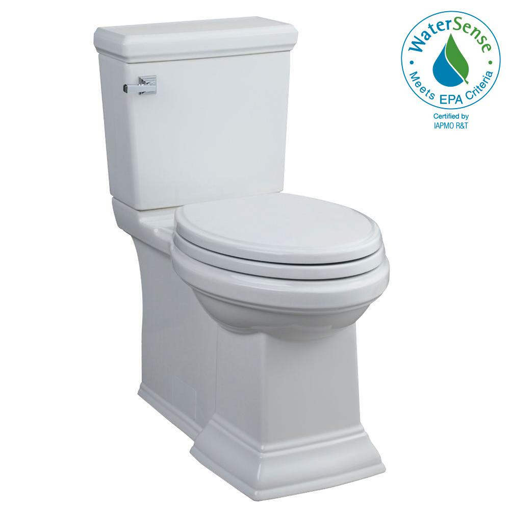 American Standard Town Square FloWise 2-piece 1.28 GPF Tall Height ...