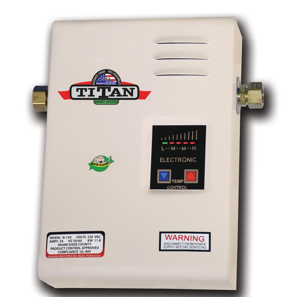 Electric Tankless Water Heater N 120
