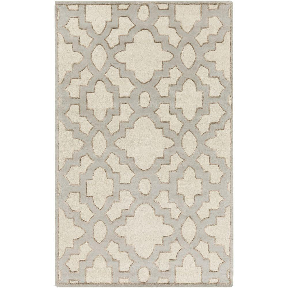 Dannevirke Ivory 8 ft. x 11 ft. Indoor Area Rug