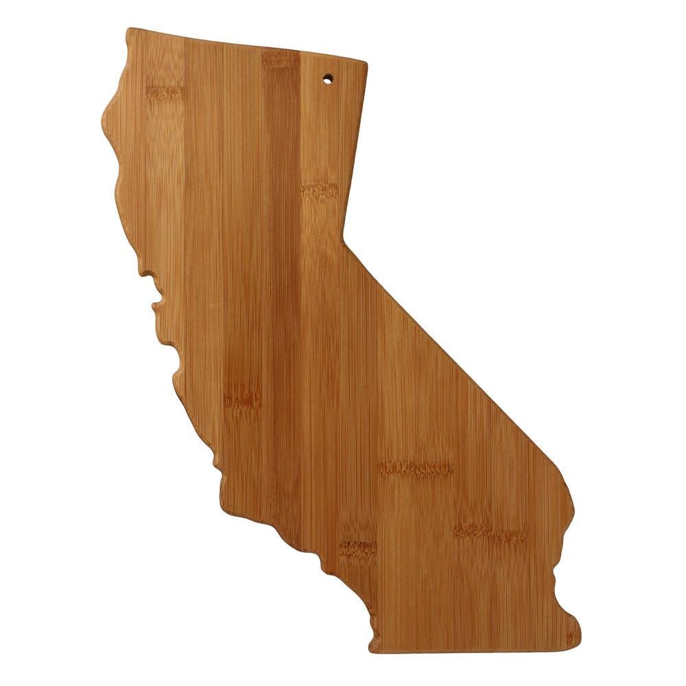 Totally Bamboo California Shape 1-Piece Cutting Board