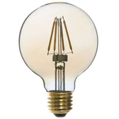 25W Equivalent Vintage G25 Dimmable LED Light Bulbs (6-Pack)