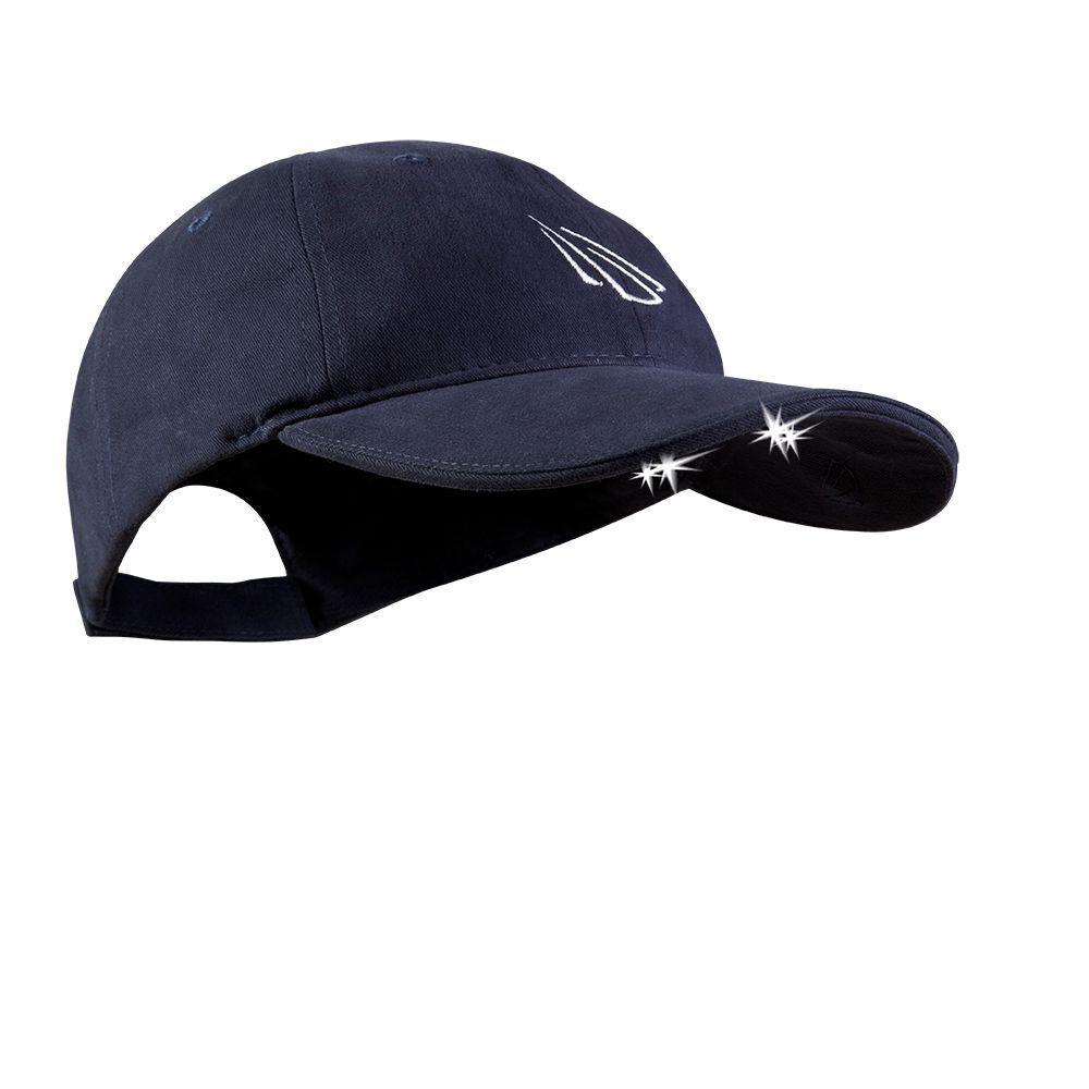 4 LED Lighted Hat, Navy