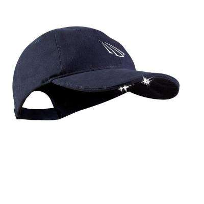 4 LED Lighted Hat, Navy