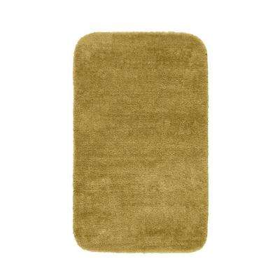 Traditional Linen 30 in. x 50 in. Washable Bathroom Accent Rug