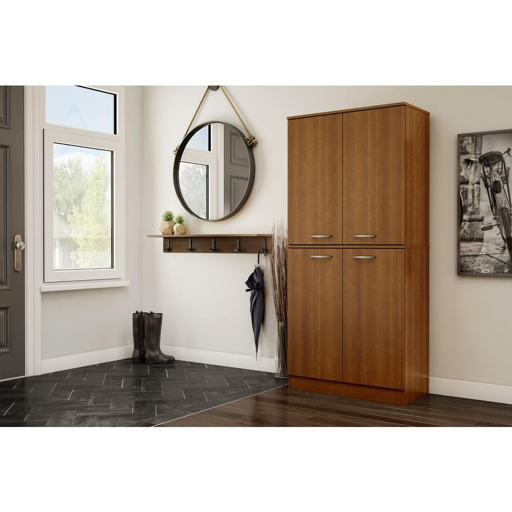 South Shore Axess Morgan Cherry Storage Cabinet