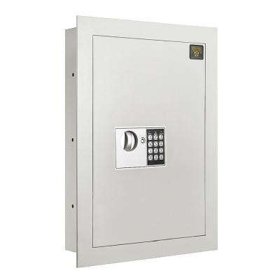 0.83 cu. ft. Flat Electronic Wall Hidden Safe for Large Jewelry Security