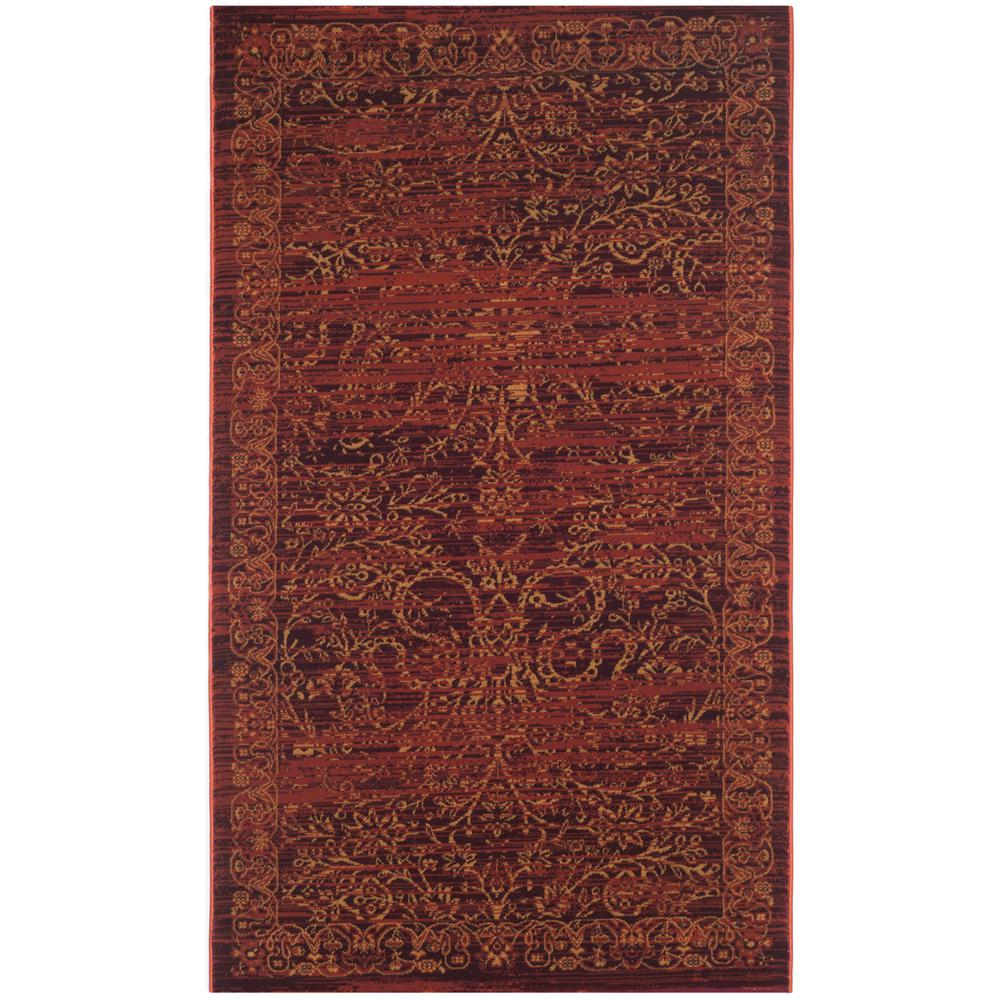 Serenity Ruby/Gold 3 ft. 3 in. x 5 ft. 3 in.