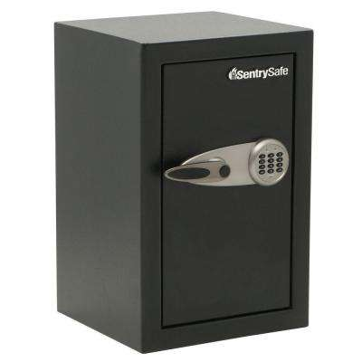 2.28 cu. ft. Steel Security Safe with Electronic Lock, Black