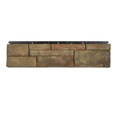 8 in. x 36 in. Versetta Stone Tight-Cut Flat Terra Rosa Siding (6-Bundles)