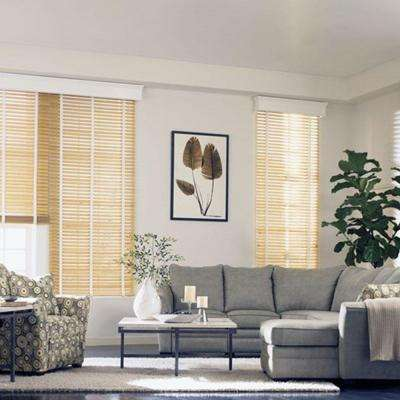 White Wood Blinds Blinds The Home Depot