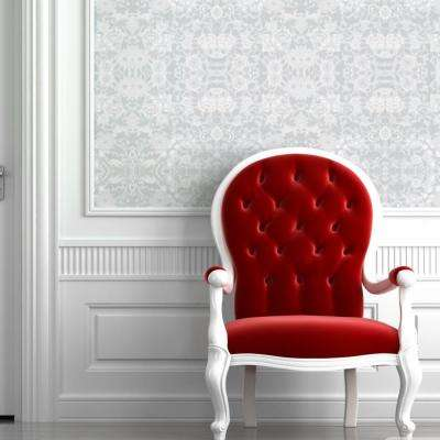 Debut Collection Daisy Chain in Light Grey Removable and Repositionable Wallpaper