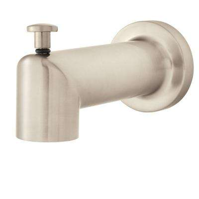 Neo Diverter 2.5 in. Tub Spout in Brushed Nickel (Valve and Handles Not Included)