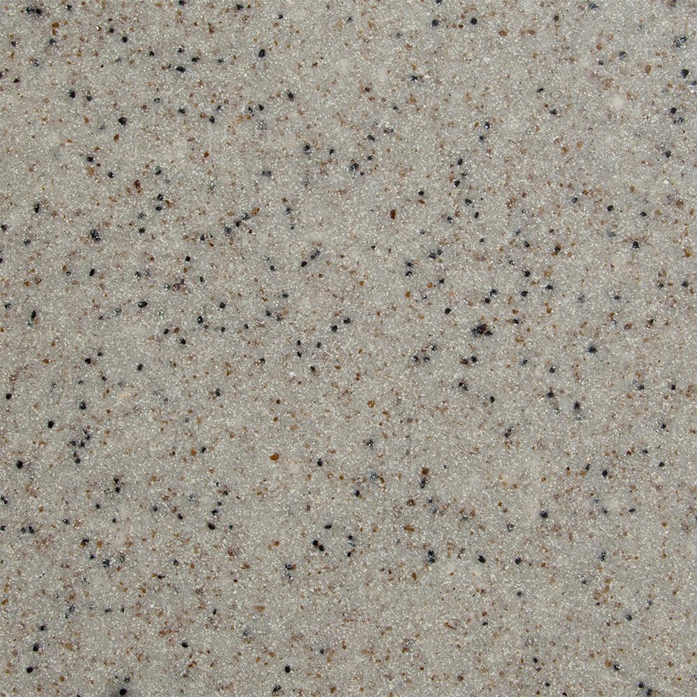 3 in. x 3 in. Cultured Granite Vanity Top Sample in Morning Dew Granite
