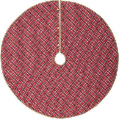 55 in. Holiday Decor Gavin Tree Skirt