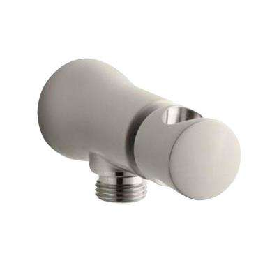 Toobi Wall-Mount Handshower Holder in Vibrant Brushed Nickel