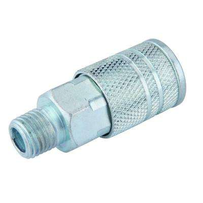 Zinc 4 Ball 1/4 in. x 1/4 in. Female to Male Industrial Coupler