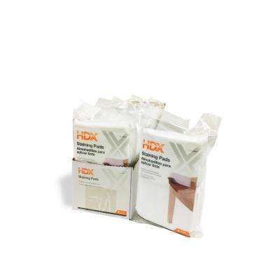 Microfiber Terry Staining Pads (4-Pack)