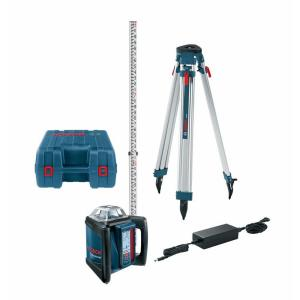 Bosch 1650 ft. Self-Leveling Rotary Laser Level Kit with Fully Automatic Dial-In Slope by Bosch