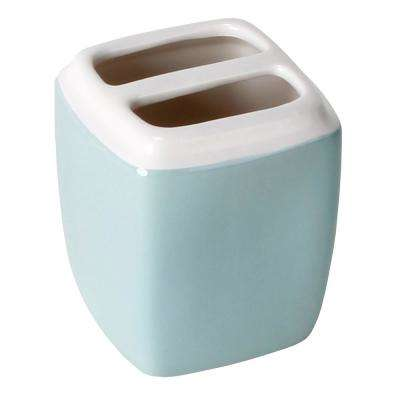 Modena Freestanding Toothbrush Holder in Blue