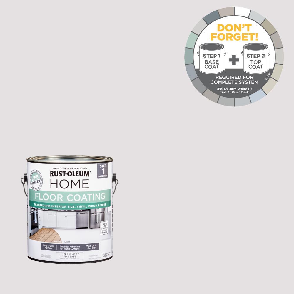 Rust-Oleum Home 1 gal. Steam Gray Interior Floor Base Coating