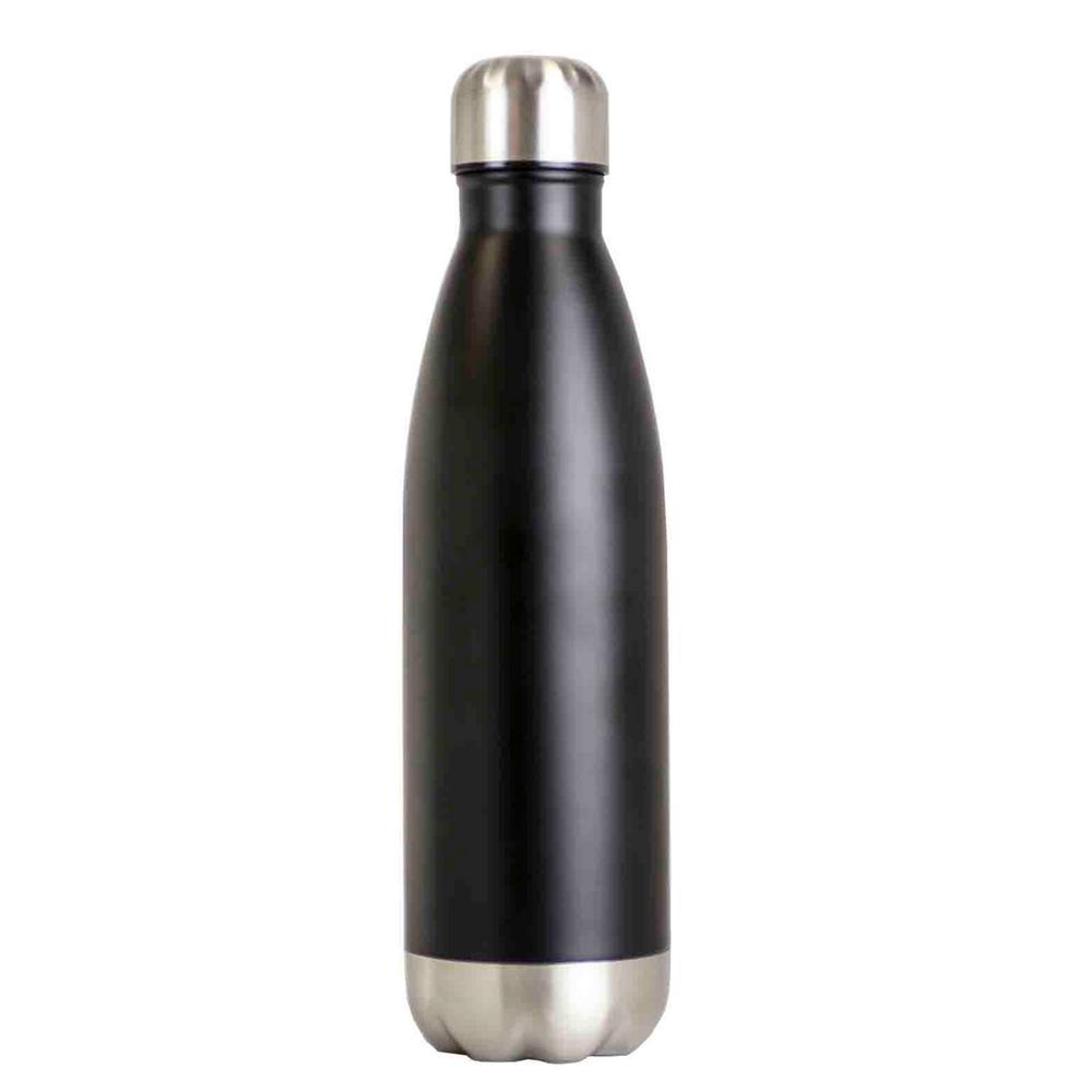 16 oz. Black Stainless Steel Travel Mug