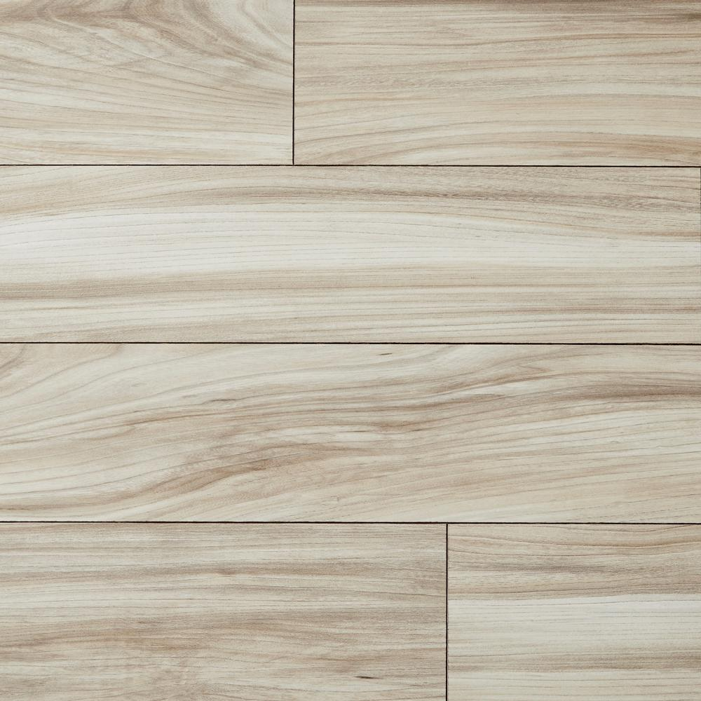 Haswell Elm 12 mm T x 6.06 in W x 50.67 in L Water Resistant Laminate Flooring (17.07 sq. ft./case)