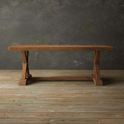 Madera 78 in. Antique pine Dining Table