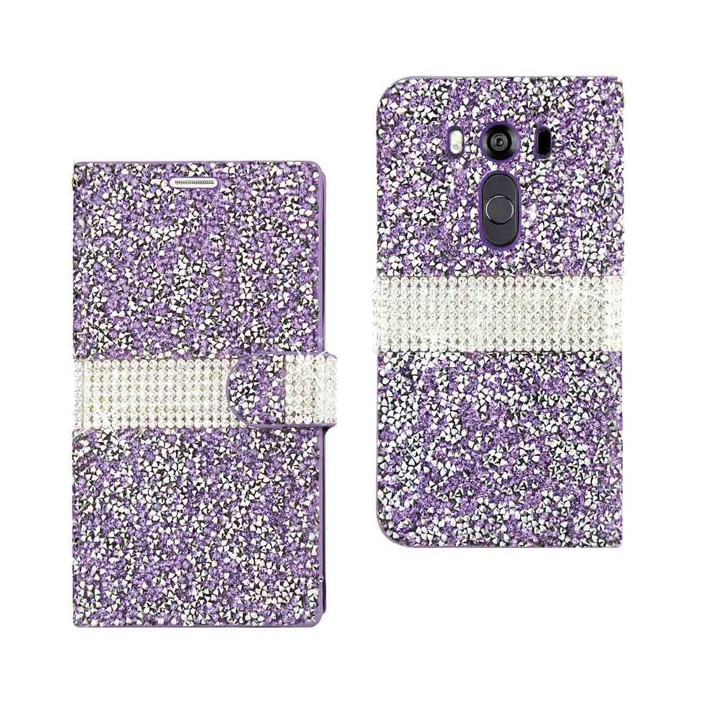 REIKO LG V10 Folio Case in Purple