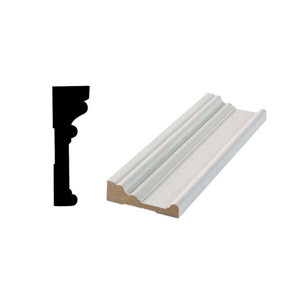 Ordinaire RB 03 63/64 In. X 3 1/2 In. X 96 In. Primed MDF Door And Window Casing 10002037    The Home Depot