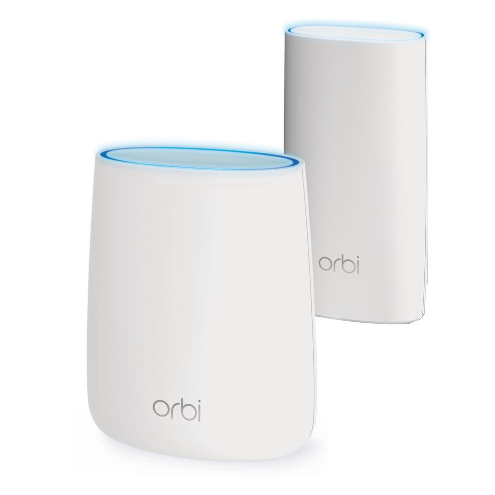 NETGEAR RBK43 Orbi Whole Home Mesh Wi-Fi System - Circle Parental Controls and Alexa enabled Router and Satellite 2.2 Gbps Tri-Band AC2200
