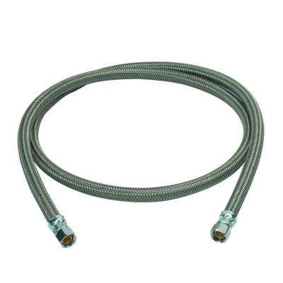 3/8 in. Compression x 3/8 in. Compression x 60 in. Braided Polymer Dishwasher Connector