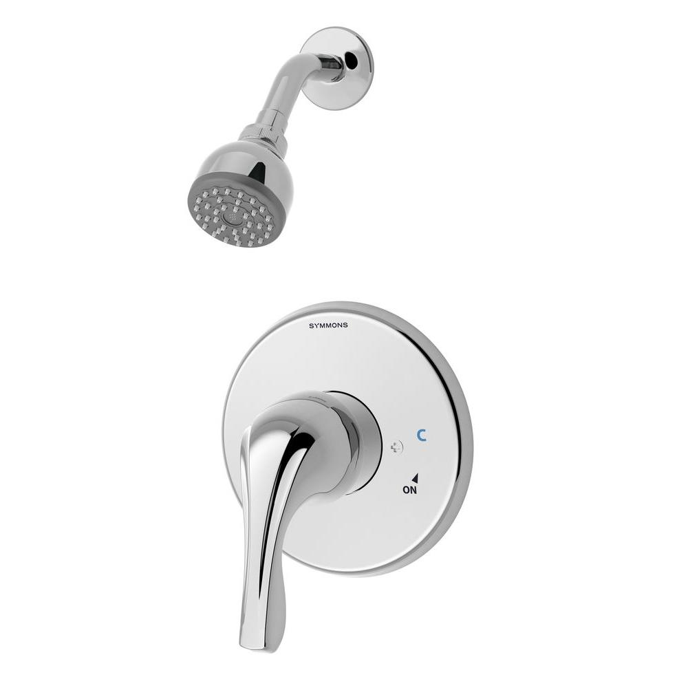 Origins Temptrol 1-Handle Shower System with Stops in Chrome (Valve Included)
