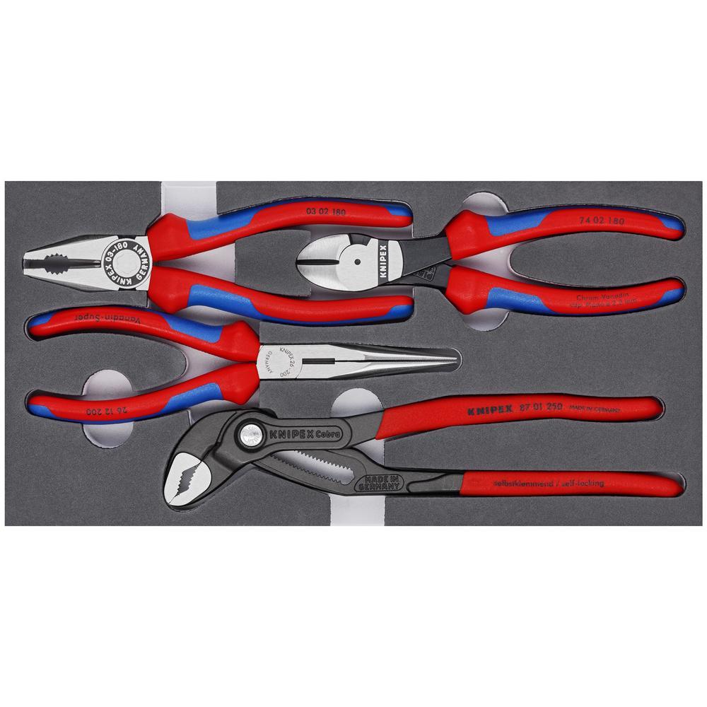Knipex Pinces-Set Basic 4tlg Mousse de dépôt