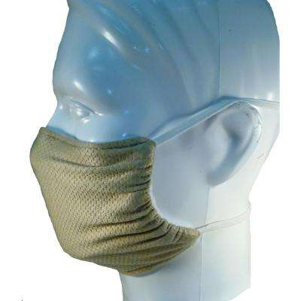 Multipurpose Washable/Reusable Dust, Pollen and Germ Mask - Beige