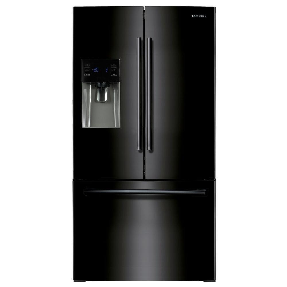 24.6 cu. ft. French Door Refrigerator in Black