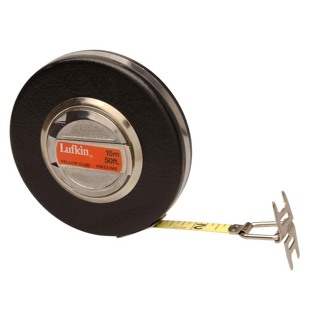 Lufkin Banner 3/8 in. x 50 ft. Yellow Clad Tape Measure