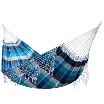 13 ft. Authentic Brazilian Cotton Tropical Hammock Bed in Marina