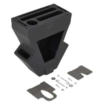 Black Economical Vestil Pallet Truck Caddy