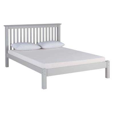 Barcelona Dove Gray Queen Bed