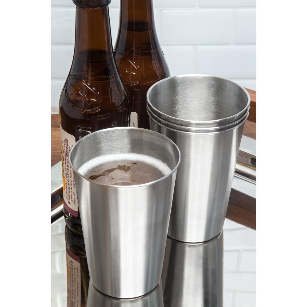 16 oz. Stainless Steel Beer Cup