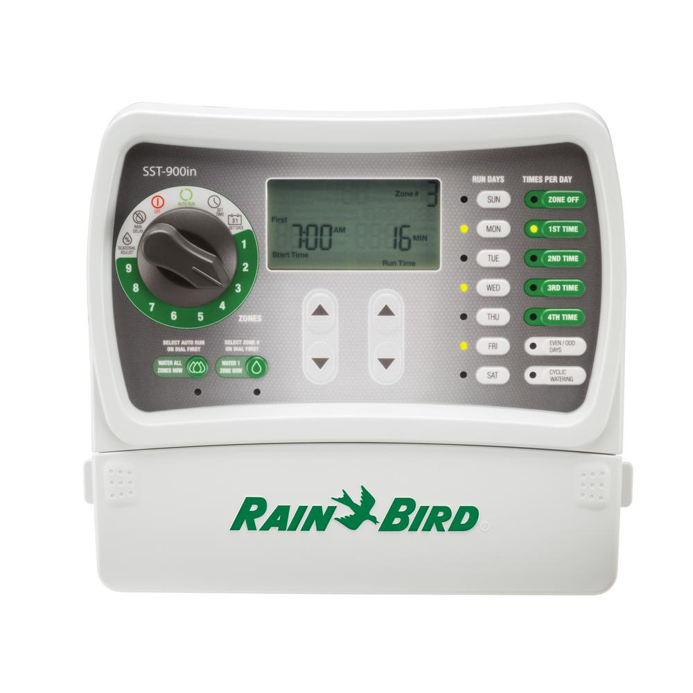 Rain Bird 9-Station Indoor Simple-To-Set Irrigation Timer Rain Bird V Relay Wiring Diagram on