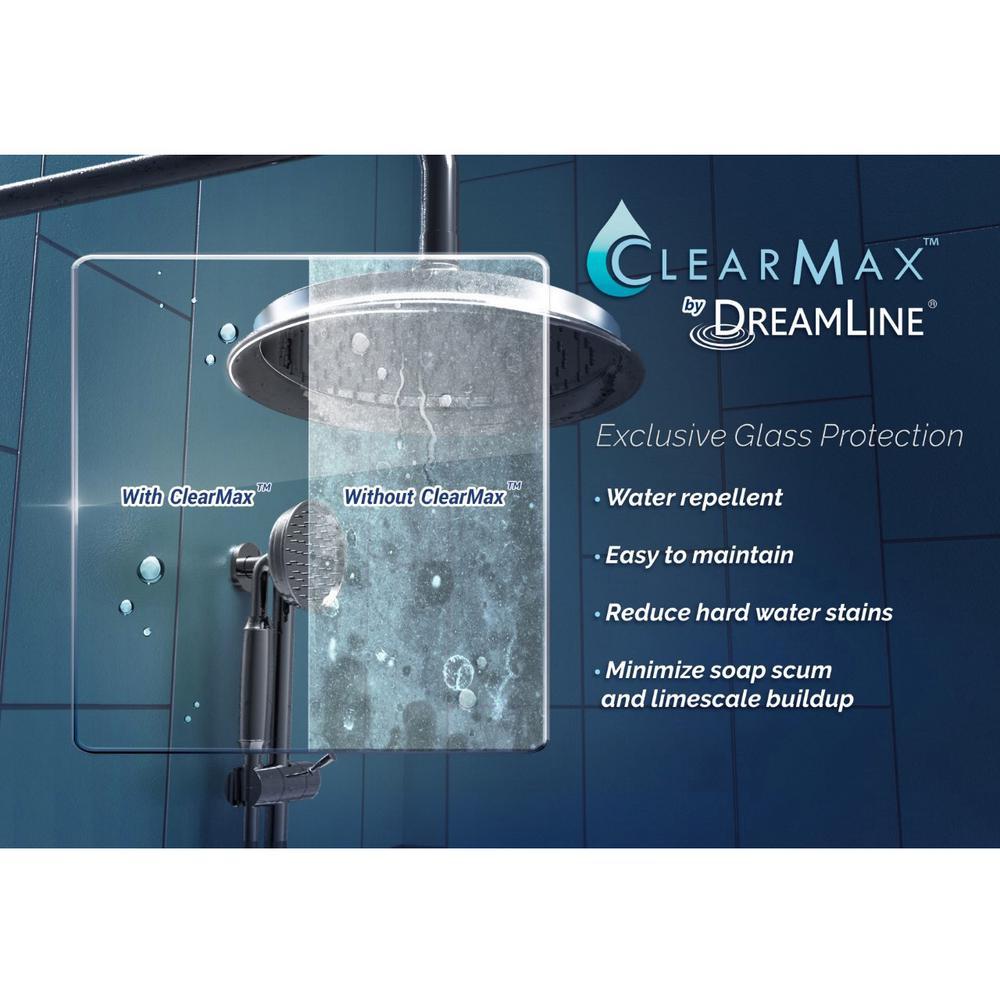 Dreamline Unidoor 28 In X 72 In Frameless Hinged Shower Door In Brushed Nickel Shdr 20287210f 04 The Home Depot