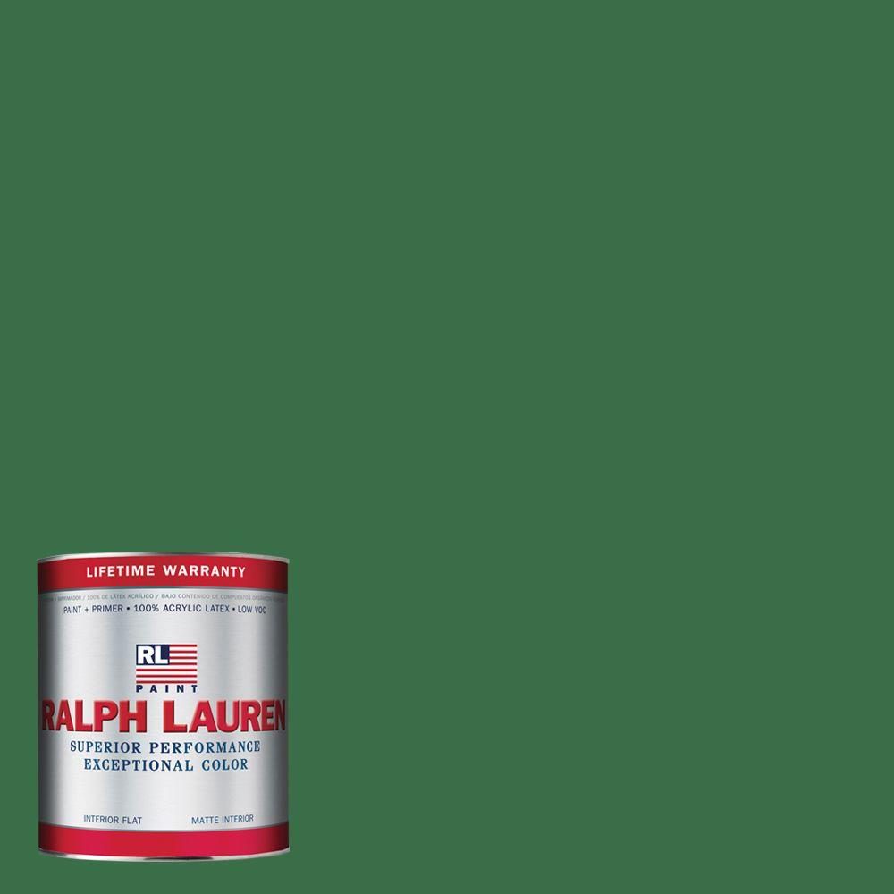 Ralph Lauren 1-qt. Green Jacket Flat Interior Paint