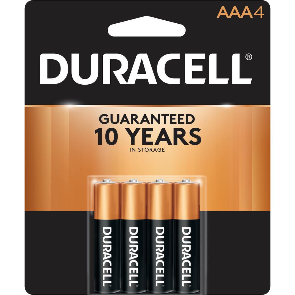 Coppertop AAA Alkaline Battery (4-Pack)