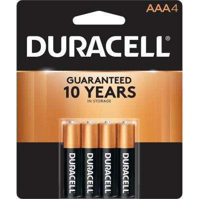 Coppertop AAA Alkaline Battery (4-Pack)