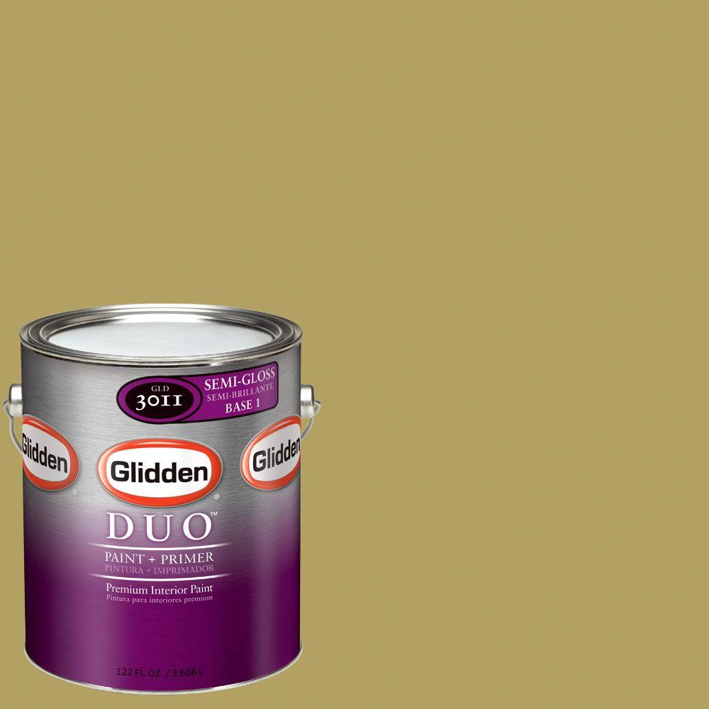 Glidden DUO Martha Stewart Living 1-gal. #MSL102-01S Sun Semi-Gloss Interior Paint with Primer - DISCONTINUED